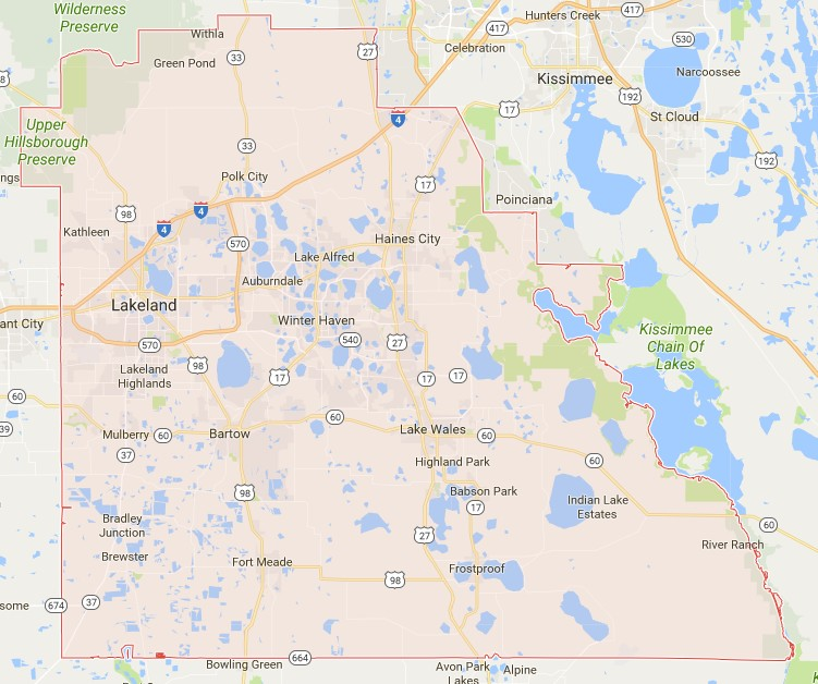 Polk County Fl Sinkhole Houses Added Interactive Sinkhole Maps