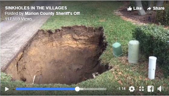 17092 SE 79th McLawren Terrace - Marion County Sinkholes