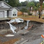 Sinkholes in West-central Florida, Freeze Event of 2010