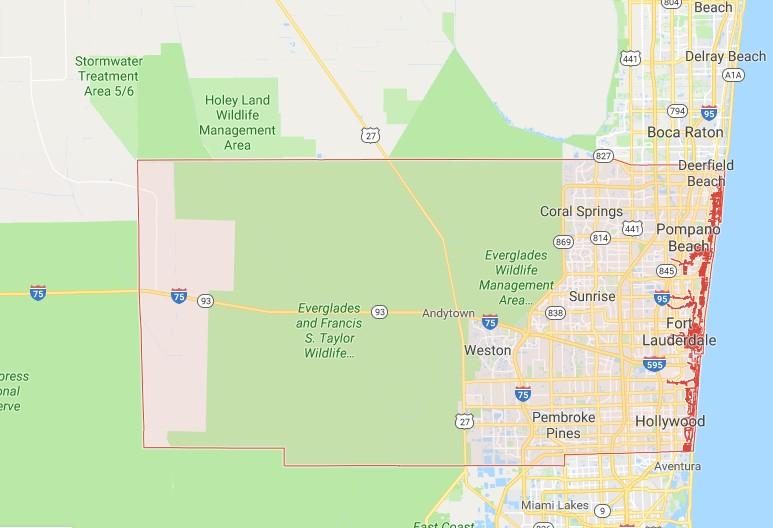 Sinkholes in Broward County, FL | Interactive Sinkhole Maps
