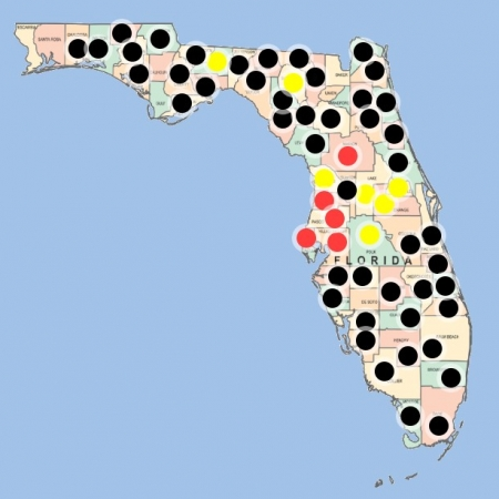 Florida Sinkhole Map