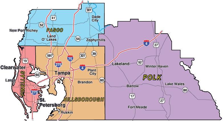 Retiree Friendly Neighborhood In Tampa Bay   Interactive Sinkhole Maps