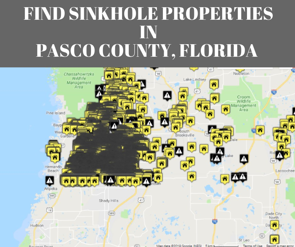 Sinkholes in Pasco County, FL | Protect Your Real Estate