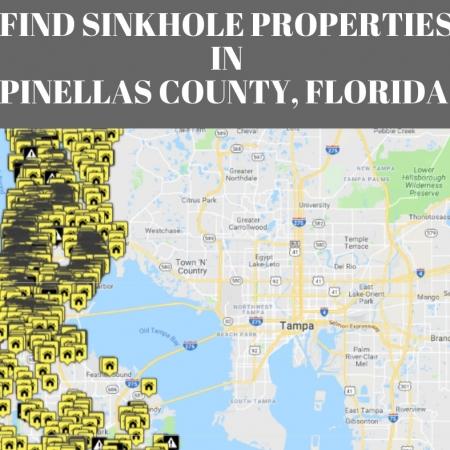 Sinkhole Map Florida.Sinkholes In Pinellas County Fl Interactive Sinkhole Maps