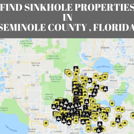 Map Of Sinkholes In Florida.Sinkholes In Seminole County Fl Interactive Sinkhole Maps