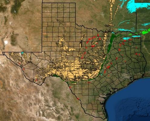 texas coal mine locations