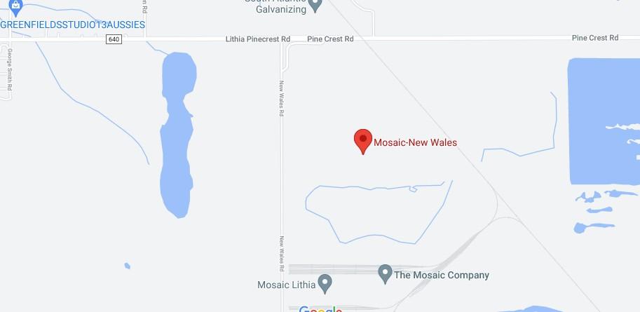 Polk County Sinkhole Map - Mosaic