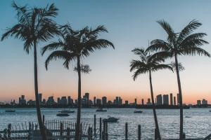 Florida sunset view