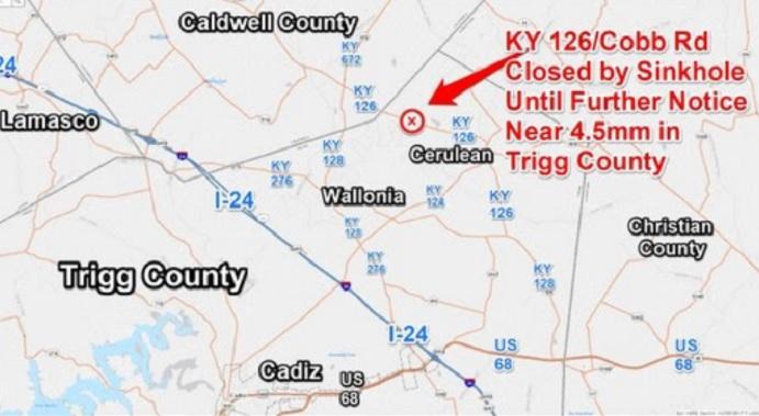 Trigg County Sinkhole